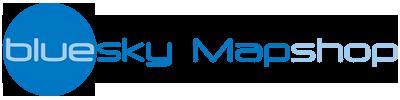 Bluesky Mapshop logo